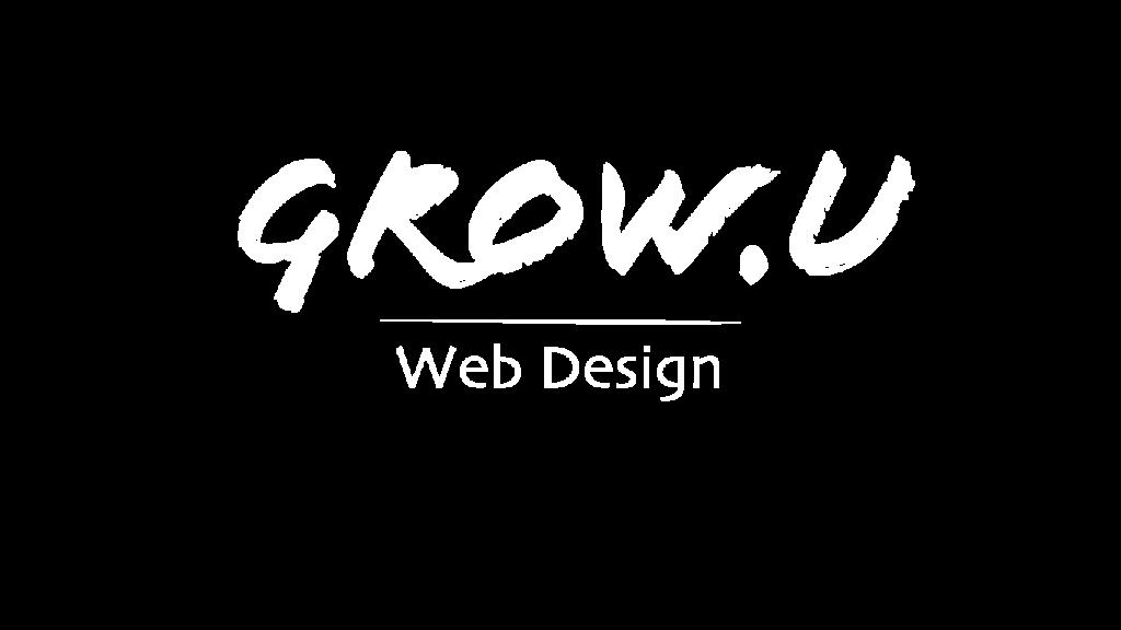 Grow U Web Design Logo
