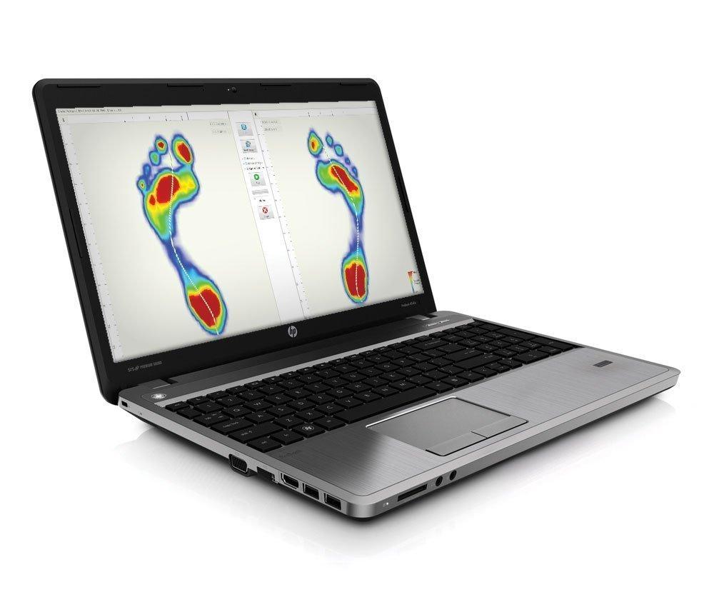 Laptop gait scan