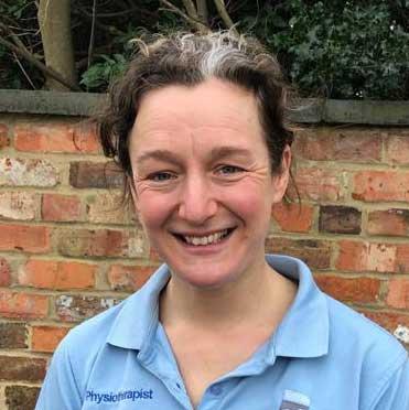 Heather Walker, physiotherapist